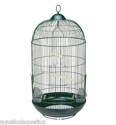 Heritage Cathedral Round Bird Cage & Stand - Budgie Finches Canary Birds Cages