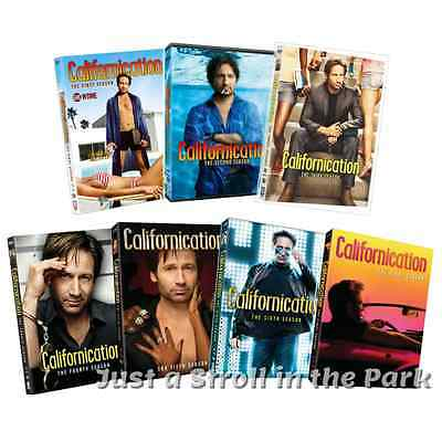 Californication: Complete TV Series Seasons 1 2 3 4 5 6 7 Box / DVD Set(s) NEW!