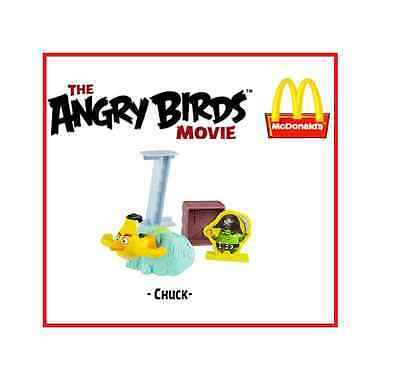 MCDONALDS Happy Meal Angry Birds CHUCK - 2016