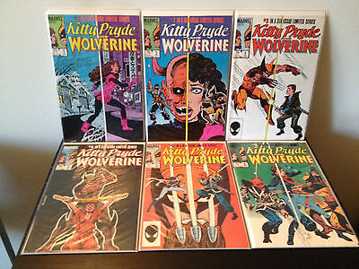 Kitty Pryde And Wolverine 1 2 3 4 5 6 (Limited Series / Complete)