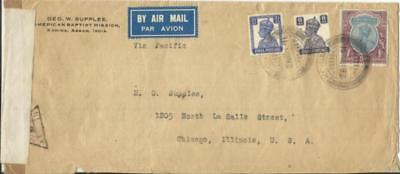 India SG#271,#275 MIXED REIGNS-#216(5rupee)TRANS-PACIFIC CLIPPER