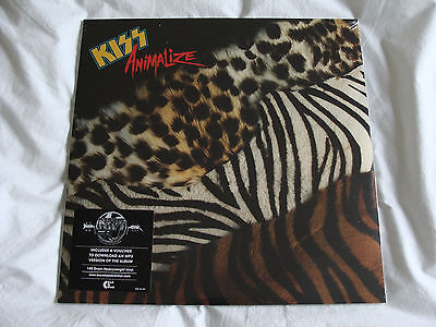 Vinyl Album: Kiss : Animalize : With MP3 Download Card : Sealed