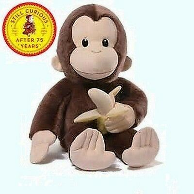 "Retired Gund - Monkey - 20""  Curious George - 75Th Anniversary - Awesome"