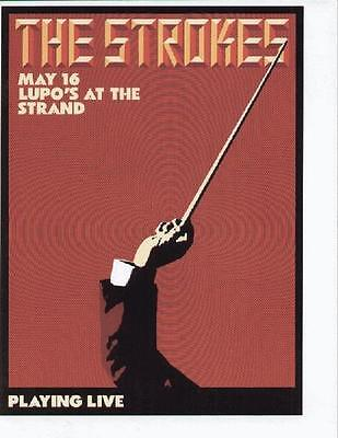 The Strokes Concert Flyer Providence Lupos
