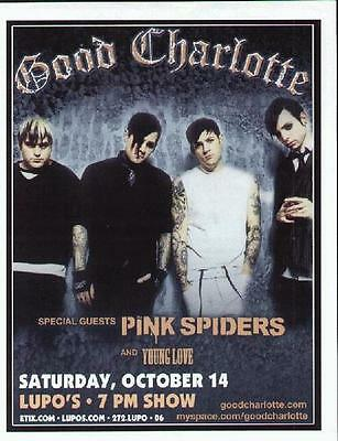 Good Charlotte Concert Poster Providence Lupos