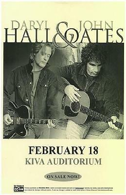 Hall And Oates Kiva Albuquerque Concert Poster 2010