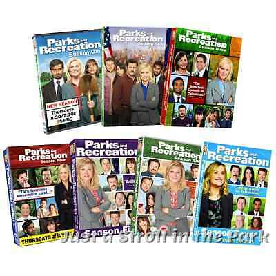 Parks and Recreation Complete Series Seasons 1 2 3 4 5 6 7 Box / DVD Set(s) NEW!