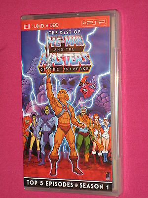 Best of He-Man and the Masters of the Universe Season 1, PSP UMD - Sony - NEW