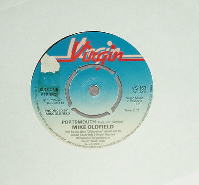 Mike Oldfield - Portsmouth       UK 7""
