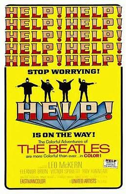 The Beatles Help Promo Poster