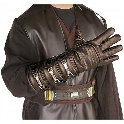 Anakin Skywalker Glove Adult Star Wars Costume Gauntlet Halloween Fancy Dress