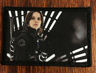 Star Wars Rogue One JYN Erso  Morale Patch Tactical Military Army Badge Hook USA