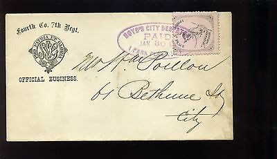 Scott #20L49 BOYD'S Dispatch Nice Used Stamp on Cover (Stock #20L49-1)