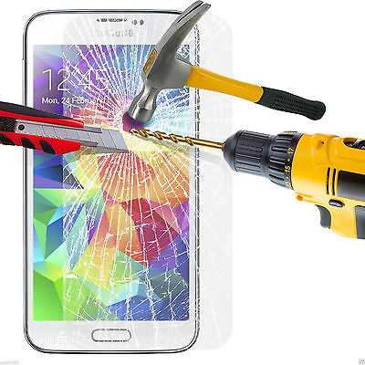 Explosion Proof Tempered GLASS Screen Protector LCD Case Cover for Samsung Phone