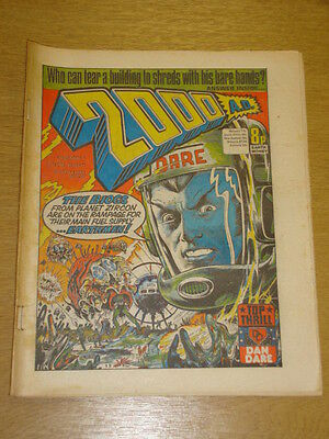 2000Ad #7 British Weekly Comic Judge Dredd Apr 1977 *
