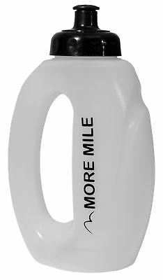 More Mile 500ml Hand Held Runners Water Bottle - Clear