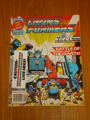 Transformers British Weekly #259 Marvel With Free Gift