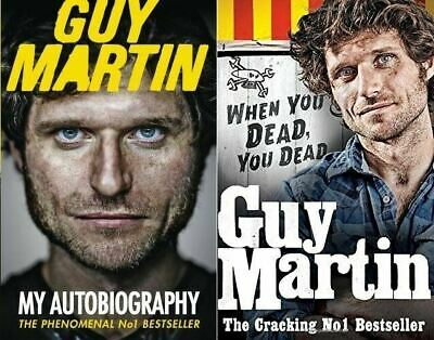 Guy Martin: My Autobiography & Guy Martin: When You Dead, You Dead (2 Book Set)