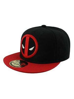 Marvel Deadpool Logo Adjustable Black Cap