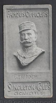 Singleton & Cole - Famous Officers - #17 Genl Foch
