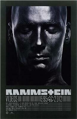 Rammstein Videos 1995 - 2012 Promo Poster Industrial Metal Berlin