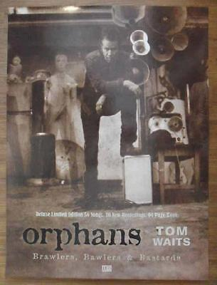 Tom Waits Orphans Brawlers Bawlers Bastards 2006 Original Promo Poster