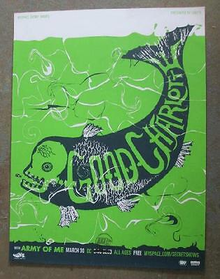 Good Charlotte Washington Dc 2007 Original Concert Poster Silkscreen