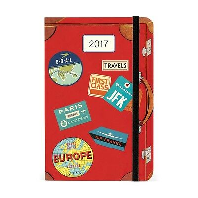 Vintage Travel Softcover Planner