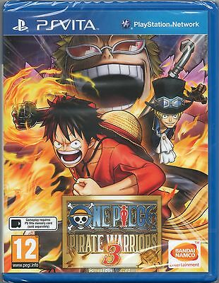 ONE PIECE: PIRATE WARRIORS 3  PS Vita Sony Playstation (1)  ~ NEW / SEALED