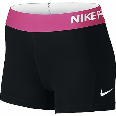 Nike Pro Cool 3 Inch Ladies Compression Shorts - Black