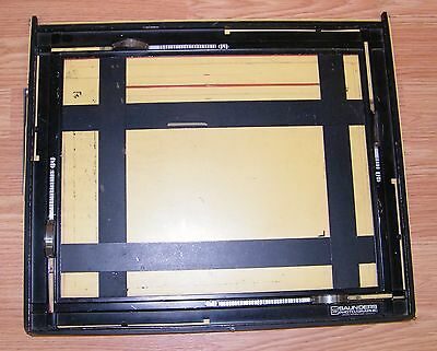 "Saunders (11"" x 14"") Adjustable Photo/Graphic Precision Enlarging Easel - U.S.A."
