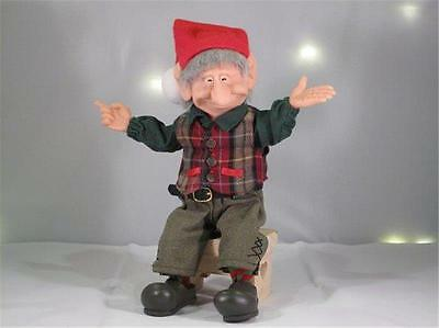 The Elves Themselves Steven Elf Resin Doll Zim's Whitehurst Company # 20033