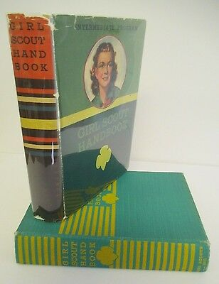 GIRL SCOUT HANDBOOK, Intermediate Program, 1940 in DJ