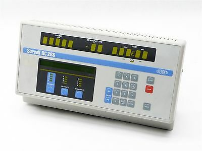 DuPont Sorvall RC-28S Refrigerated Centrifuge Input Panel Display Interface