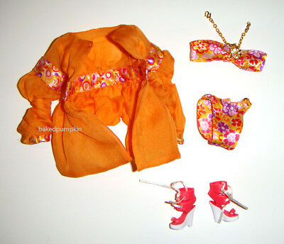 Barbie Fashion Swimsuit, Cover-up For Silkstone Doll ske29