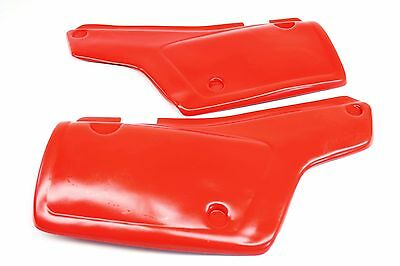 New Side Panels 1983-1987 Honda XL600 R Left Right Covers Red (See notes)#C37