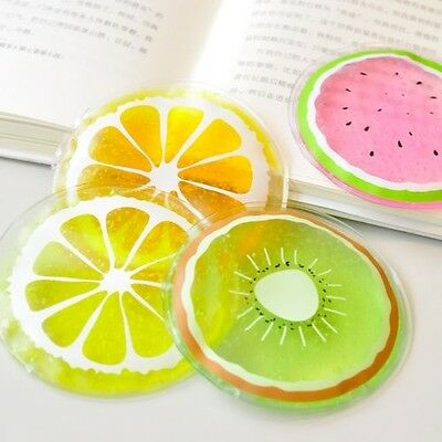 1PC Sunstroke Travelling Outdoor Reusable Cold Pack Summer Fruit Cool Ice Bag