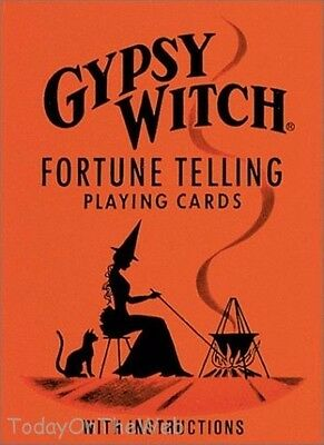 Gypsy Witch Fortune Telling Playing Cards (Cards)