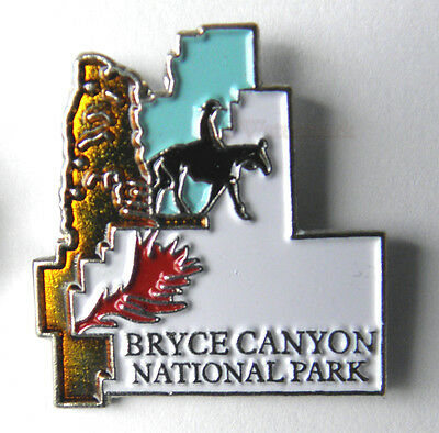 United States Utah Bryce Canyon National State Park Pin 1 Inch