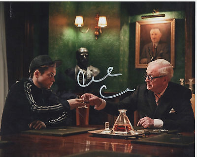 MICHAEL CAINE personally signed 10x8
