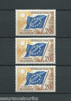 France Service - 1958 Yt 18 - Timbres Neufs** Luxe