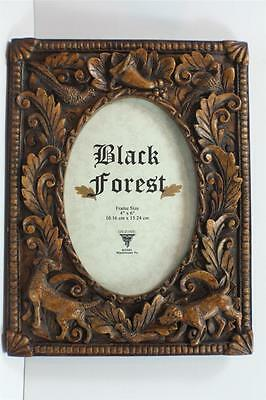 BLACK FOREST/ PHOTO FRAME/ 4 X 6 INCH PHOTO/HUNTING/clearance sale /28360