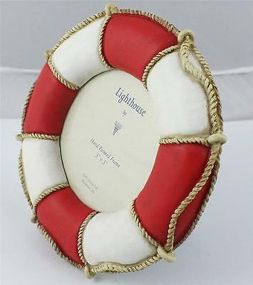LIFE BUOY/ PHOTO FRAME/clearance sale/NAUTICAL COLLECTIBLE/9688 BY DEZINE