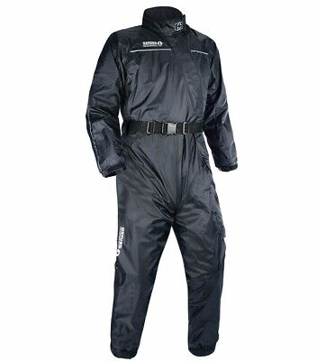 Oxford Rain Seal All Weather Black 100% Waterproof Motorcycle Over Suit RM300