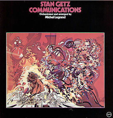 Stan Getz - Communications / Orchestrated & arranged by Michel Legrand / Top LP
