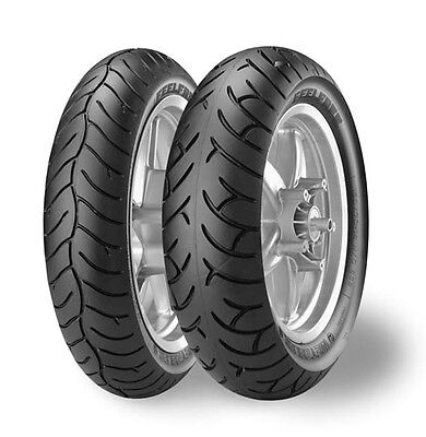 Accoppiata Gomme Feelfree 110/70-16 (52P) + 130/70-16 (61P) Metzeler 7C0