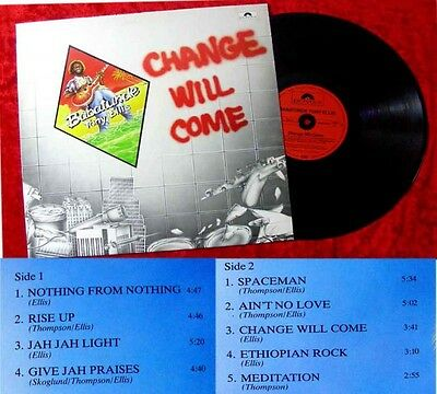LP Babatunde Tony Ellis Change will come 1981