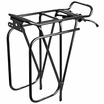 Tortec Expedition Rear Road Bike/Cycle/Cycling Pannier Bag Rack - Black