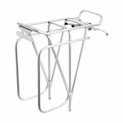 Tortec Expedition Rear Road Bike/Cycle/Cycling Pannier Bag Rack - Silver