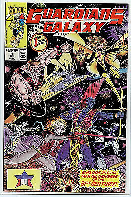 Guardians of the Galaxy # 1 Comic Marvel Comics 1990 NM-M Taserface H27